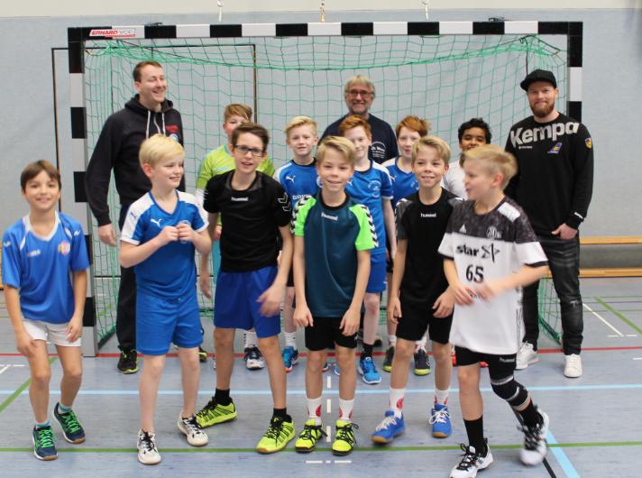 Handball Training Wie Bei Den Profis Friedrich Albert Lange Schule